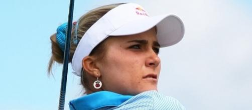 2013 Women's British Open – Lexi Thompson [Image by Wojciech Migda|Wikimedia Commons| Cropped | CC BY-SA 3.0 ]