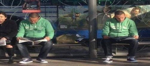 Alguns desconhecidos parecem irmãos gêmeos