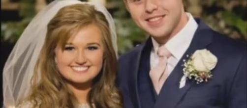Kendra Caldwell and Joseph Duggar wed in ceremony at First Baptist Church | Image Credit: Hallo Celebrity/YouTube