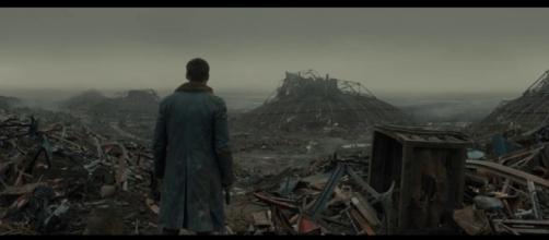 LAPD Officer K (Ryan Gosling) stumbles onto a secret in 'Blade Runner 2049.' / Image - Deadline | Hollywood