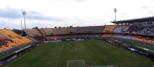 Lo Stadio Via del mare di Lecce.