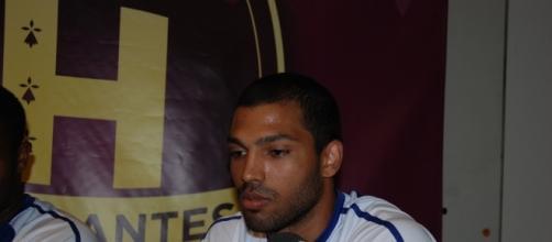 Nicolas Claire (HBC Nantes) est concentré sur la reprise du championnat. Archives FLF