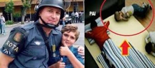 Pai e mãe de Marcelinho eram policiais