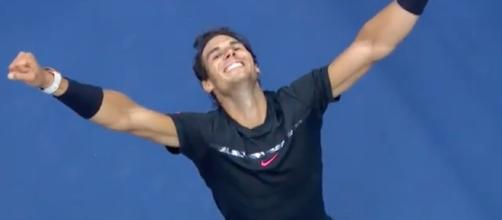 Rafael Nadal has won the 2017 US Open. [Image via YouTube/US Open Tennis Championships]