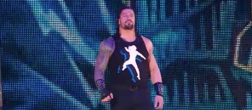 Roman Reigns will face Jason Jordan on Monday's episode of WWE 'Raw' on USA. [Image via WWE/YouTube]