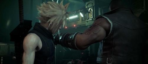 "Square Enix is confirmed to appear at TGS 2017, and fans hope to hear good news regarding a ""Final Fantasy 7"" remake. - PlayStation/YouTube"