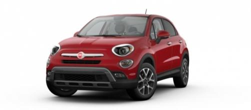 The 2017 Fiat 500x color Cherry Red (used with permission from Fiat)