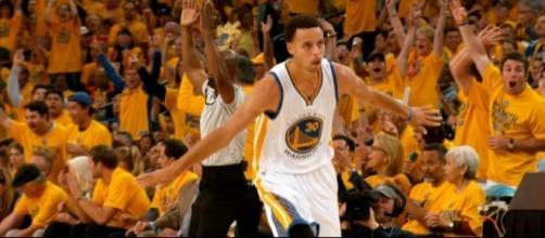 Two-time NBA MVP Stephen Curry (via YouTube - NBA)
