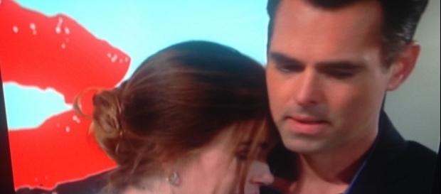 Billy and Victoria. CBS television screen shot. Cheryl E Preston