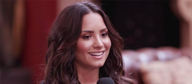 Demi Lovato is keeping herself busy as she gears up to release her latest record on Septemebr 29. (YouTube/MTV News)