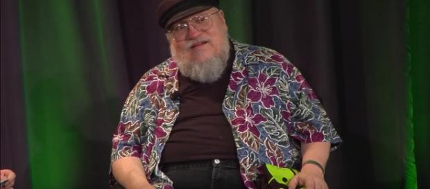 "George RR Martin revealed that age has something to do with ""The Winds of Winter"" delays. Photo by Talks at Google/YouTube Screenshot"