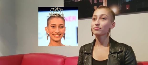 Ioanna Palamarcuk wurde zur Miss Hannover gekührt. Sie ist 16 Jahre jung. / Fotos: IoannaPalamarcukFacebook, HAZFacebook (Screen)