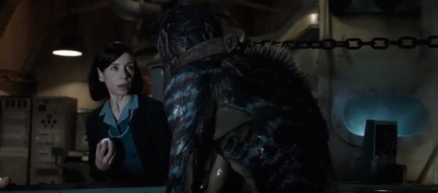 Sally Hawkins stars as a mute woman (Image credit: IMDB/YouTube)