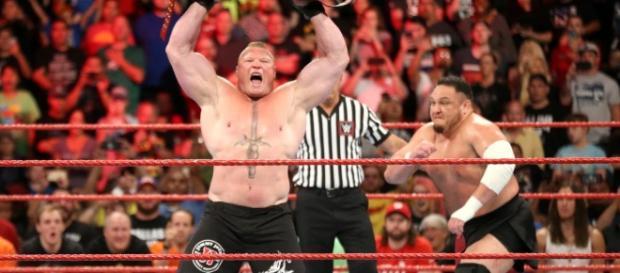 WWE news: Samoa Joe defends Brock Lesnar as a part-time star- Photo: YouTube screencap (WWE)