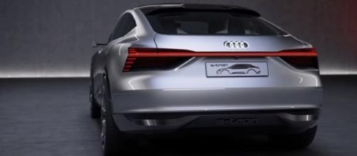 2019 Audi E-Tron Sportback - interior Exterior and Drive Image - CAR TV | YouTube