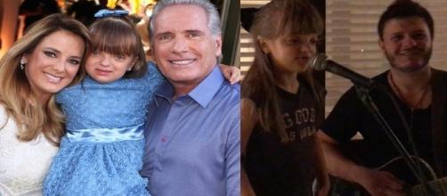 A garota ganhou elogios do pai ( Foto - Reprodução )