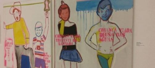 Após protestos, exposição ''Queermuseu'' é encerrada um mês antes do previsto. Foto: Reprodução/Facebook.