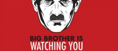 Big Brother is Watching You Poster via Wikimedia Commons