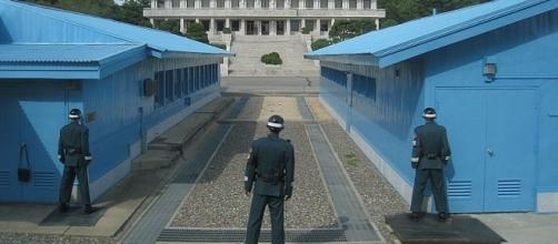 Border with North Korea (Credit - mroach – wikimediacommons)