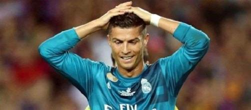 Cristiano Ronaldo em dificuldades na Espanha