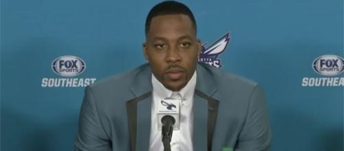 Dwight Howard is the new starting center for the Charlotte Hornets (via YouTube - Ximo Pierto)