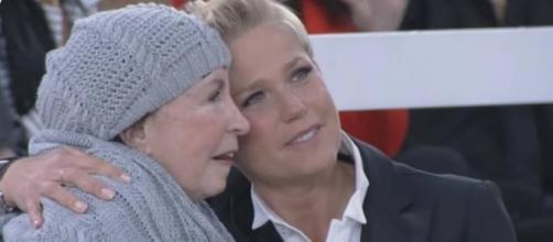 """Força, Dona Alda! Xuxa diz que a mãe """"não está nada bem"""""""