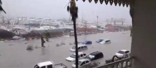 Hurricane Irma damage screen shot