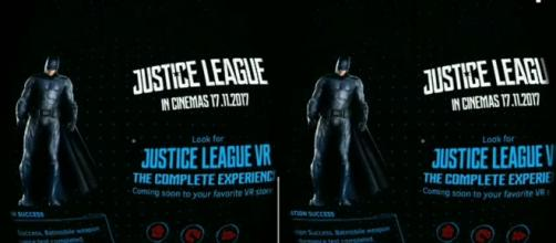 """""""Justice League"""" VR experience - Image Credit: YouTube/Bounty Hunter"""