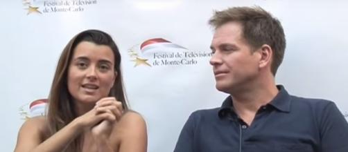 """Micheal Weatherly and Cote de Pablo are rumored to reunite in """"NCIS"""" Season 15. Photo by Télé-Loisirs/YouTube Screenshot"""