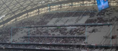 On devrait voir des tribunes très clairsemées ce jeudi au Vélodrome