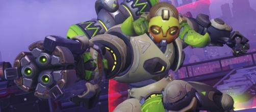 'Overwatch' hero Orisa. (image source: YouTube/ADAPT Chance)