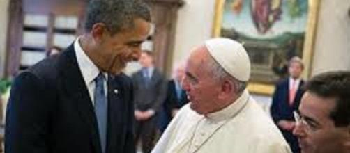 Pope Francis and Barack Obama/WhiteHouse/https://obamawhitehouse.archives.gov/blog/2014/03/27/day-4-president-travels-italy-meets-pope