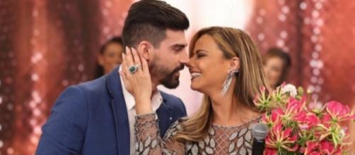 Radamés termina noivado com Viviane Araújo por ciúmes de cenas sensuais