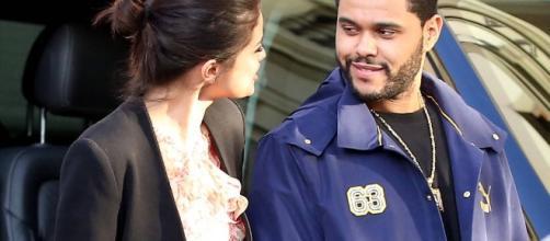 Selena Gomez, The Weeknd - Image Credit: YouTube screenshot / Entertainment Tonight