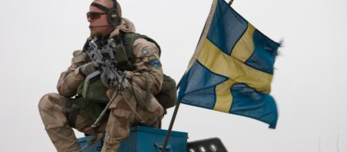 Swedish forces by Brindefalk/Wikimedia Commons