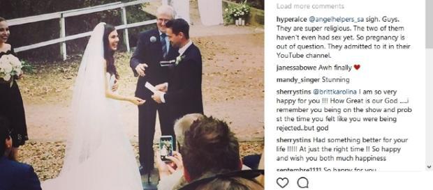 Briit Nilsson marries Jeremy Byrne. Image[brittkarolina-Instagram]