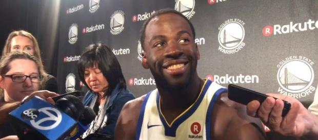 Draymond Green talks about the Kyrie Irving trade (Image Credit - LetsgoWarriors/YouTube Screenshot)