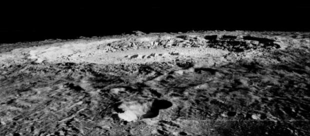 Limb of Copernicus Impact Crater (Credit wikimediacommons)