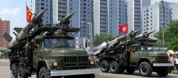 North Korea threatens the U.S, with intercontinental missiles and nuclear weapons (Photo: Stephan Krazovsky - Wikimedia)
