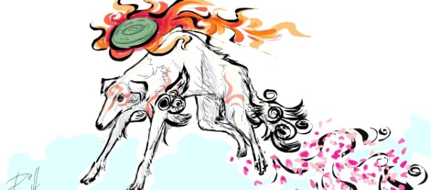 Okami Drawing by Riff/Sketchport - | CC BY 4.0