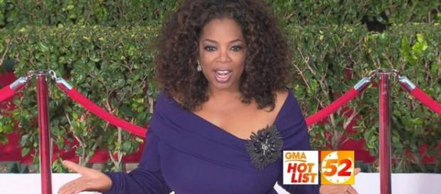 Oprah Winfrey wow in weight loss on O magazine. Source Youtube GMA
