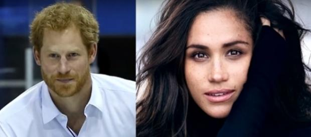 Prince Harry and Meghan Markle- (YouTube/Access Hollywood)