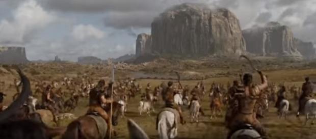 """The Dothraki set to return in """"Game of Thrones"""" Season 8.(Photo:YouTube/Ravenbreath)"""