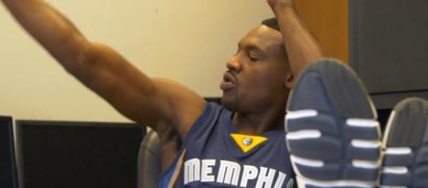 Tony Allen in a Memphis Grizzlies uniform (c) https://vimeo.com/prodigiarts