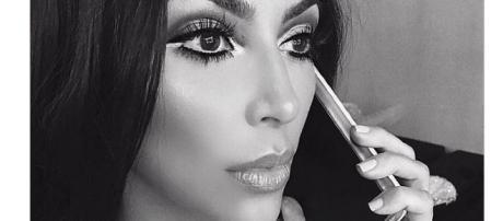 Kim Kardashian y su técnica del contouring