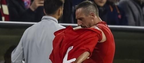 Bayern Munich: « en colère », Ribéry jette son maillot sur le banc