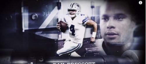 Dallas Cowboys' Dak Prescott about to break an impressive NFL record- Photo: YouTube (NFL)