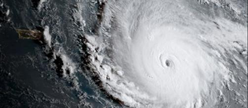 Hurrican Irma, a Photo provided by NOAA