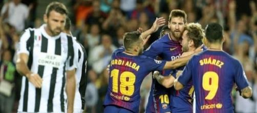 La festa del Barcellona e la delusione di Barzagli