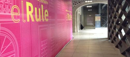 """La planta baja del Centro Cultural y de Visitantes """"el Rule""""."""